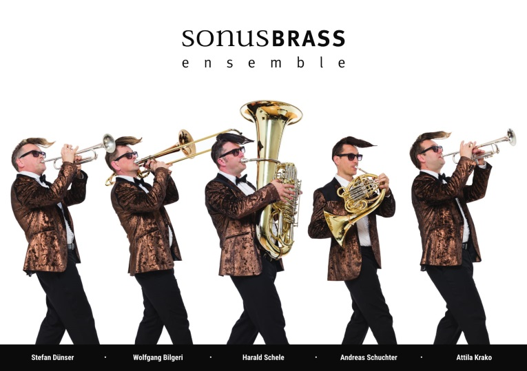Digitale Flyer Die Verblecherbande Sonusbrassensemble
